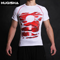 Man T shirt 3D print T-shirt man Marvel revenge Man Iron Man civil war TEE fitness clothing male CrossFit coat