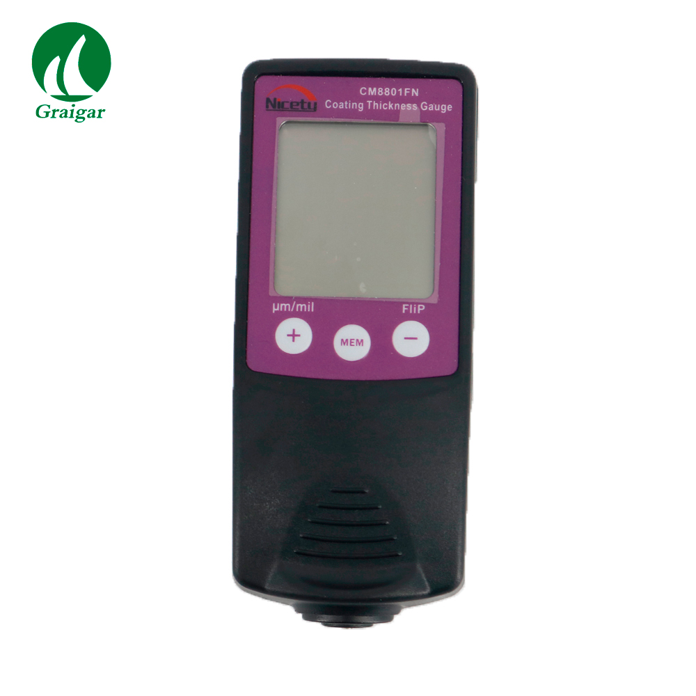 CM8801FN Digital Film Coating Thickness Gauge Painting Tester F&NF Type|Width Measuring Instruments| |  - title=