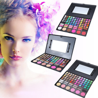 Pro Quality 78 Colors Makeup Colorful Eyeshadow Palette Highlighting Blusher Concealer Eye Shadow Make Up Kit