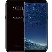 Samsung Galaxy S8 G950U Оригинальный разблокированный LTE Android мобильный телефон ram 4G rom 64G