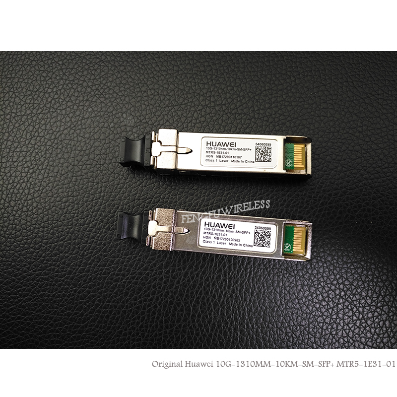 10pcs Hottest Original Hua Wei 10g 1310nm 1.4km Sm Sfp Module Single-mode Fiber Optic Module Hot Sele Communication Equipments