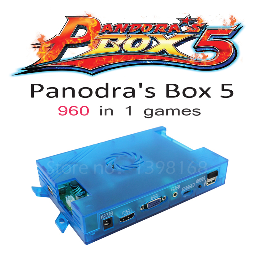 Pandora's Box Console Accessories Of Pandora Box 5 Family Version Motherboard 960 in 1 Video Game VGA HDMI and Harness Control nintendo gba video game cartridge console card metroid fusion eng fra deu esp ita language version