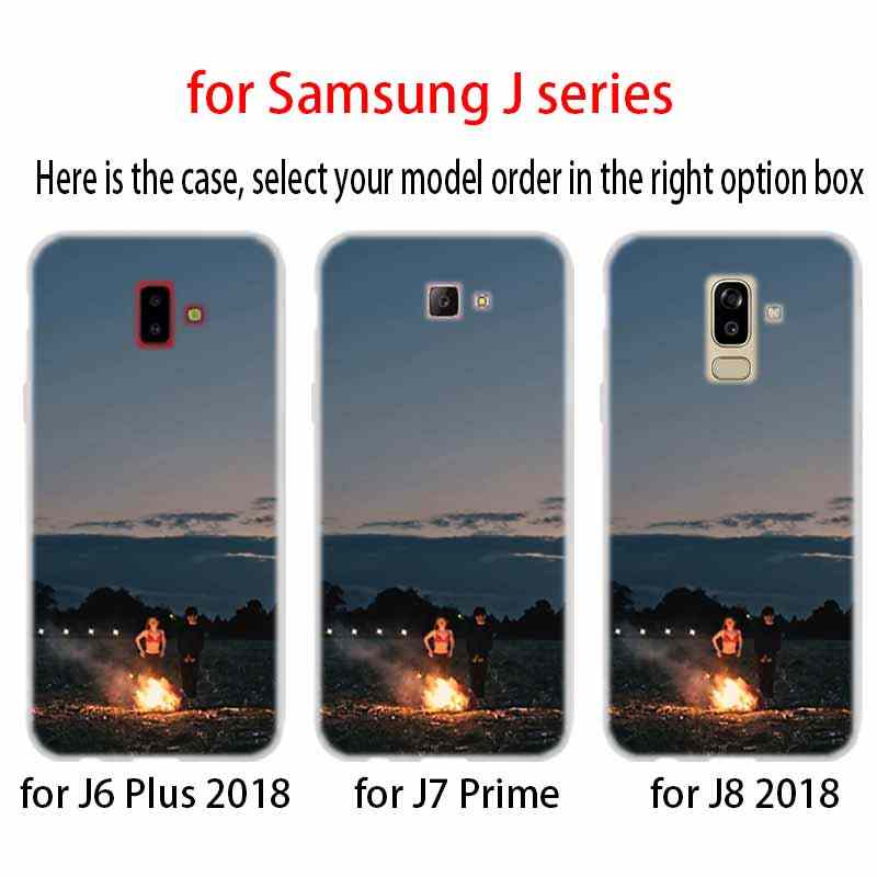 case Soft Cover TPU For Samsung Galaxy J6 J8 J5 J7 J4 Core Plus 2018 2016 2017 EU Prime Pro Ace end of the fing fxxxing world