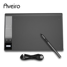 New Original Aveiro Digital Tablets Professional Graphic Tablet Artist Designer Drawing Board with 8192 Level Pen hot sale huion new 680tf 8 x 6 digital graphics pen tablets professional signature pad with microsd card drawing panel 680tf