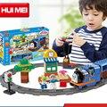 Детские игрушки для детей томас и друзья поезд juguetes модель автомобиля головоломки томас поезд железнодорожный транзит электрический HM327