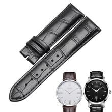 c6679e537325 WENTULA bracelets de montre pour BOSS bande en cuir de veau cuir de vache bracelet  en cuir véritable bracelet de montre homme 22.