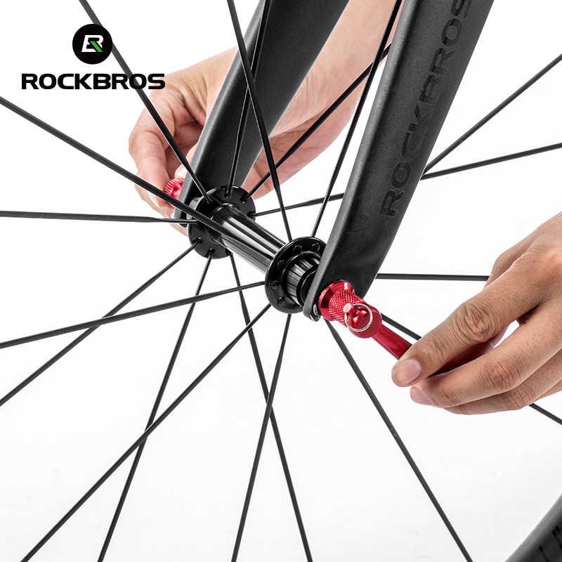 مكافحة سرقة الدراجة أسياخ عجلات قفل الأمن سريعة الإصدار دراجة آخر دراجة أجزاء الدراجة الطريق MTB دراجة أسياخ