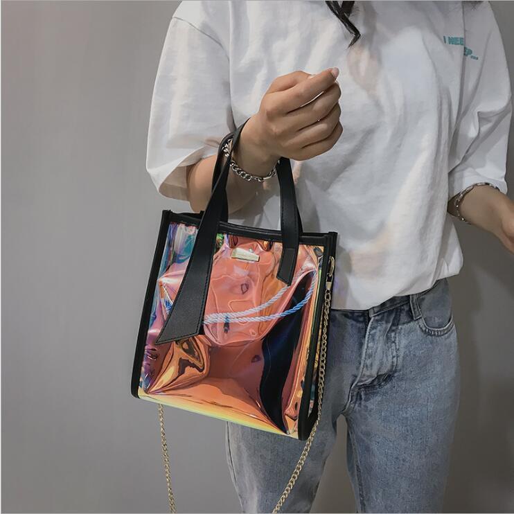 2018 Kvinnor Messenger Väskor Mode Mini Bag Med Kedja Kvinnor - Handväskor - Foto 2