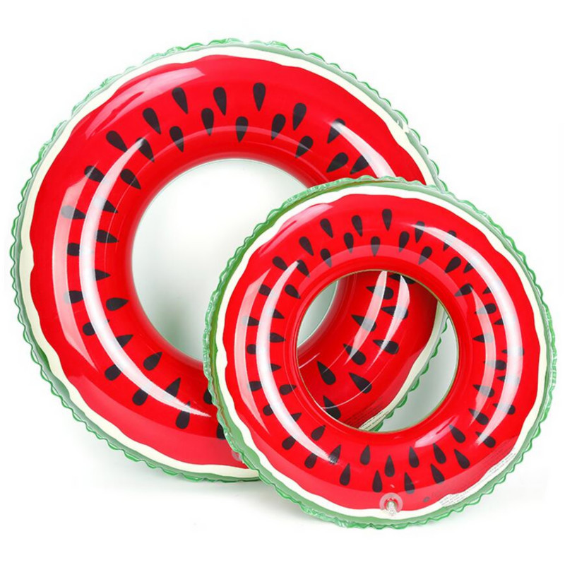 120CM Watermelon Swimming Ring Inflatable Floats pool For Adult Floats inflatable Watermelon Swim Ring Water Sports Toy