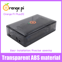 Orange Pi Transparent  ABS Black Color Protective Case for Plus 2E ,not for Raspberry Pi  Wholesale is available