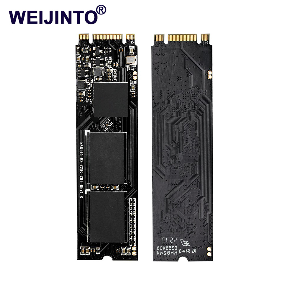 WEIJINTO m.2 SSD 2242 128 GB 256 gb 512 gb 120 GB 240 GB 1 to HDD 2242mm NGFF SSD 360 GB M2 disque dur pour ordinateur portable