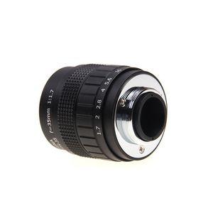 Image 3 - Fujian 35mm F1.7 CCTV Camera lens+lens Adapter ring C FX Mount for Fuji Fujifilm X E2 X E1 X Pro1 X M1/T1