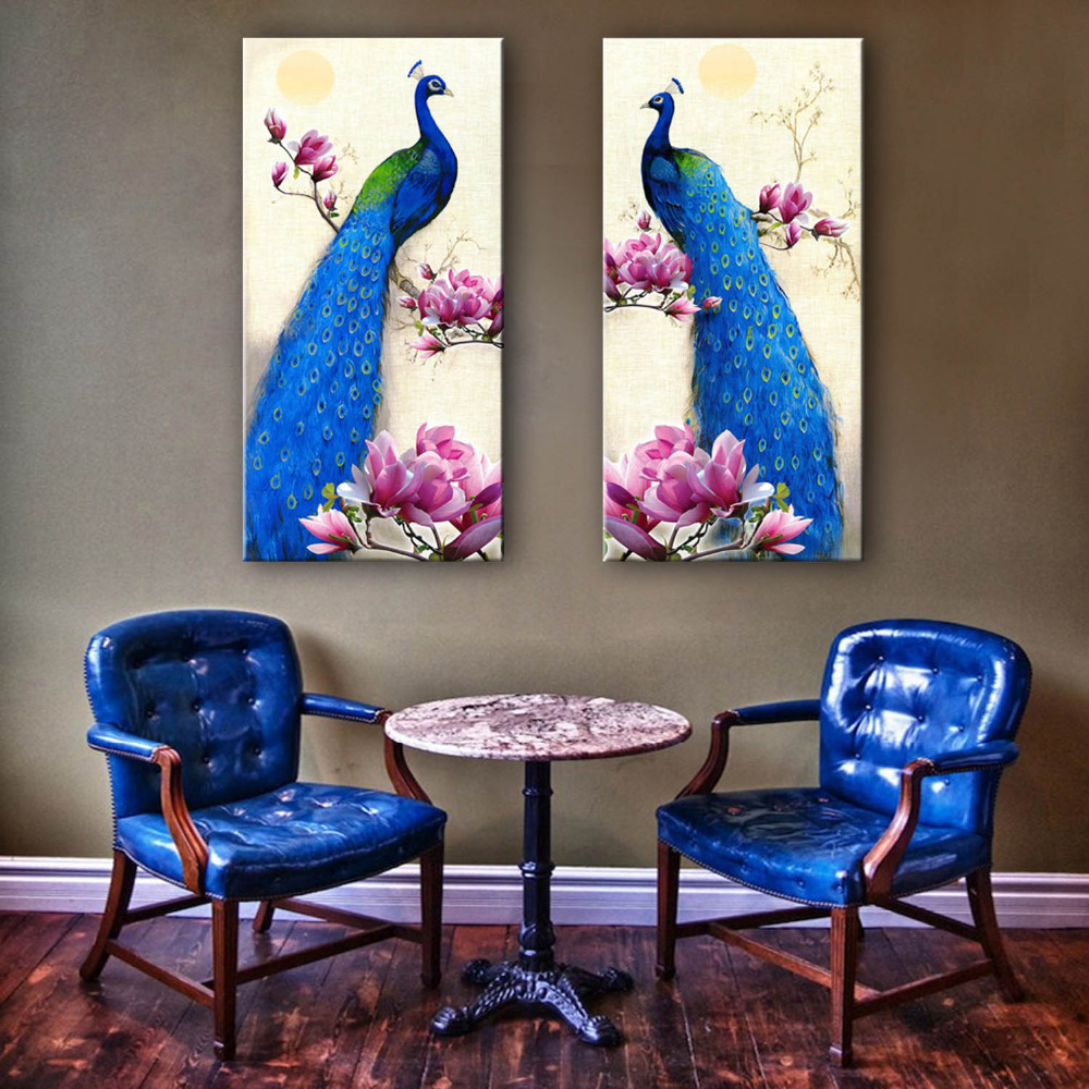 Online get cheap peacock decor alibaba group for Buy cheap home decor online