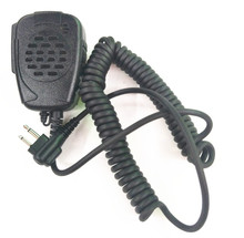 OPPXUN Walkie Talkie 2 Pin Handheld Speaker Microphone For Two Way Radio Motorola Radios GP68 GP88 GP88S GP3688 A8 A6 A10 A12
