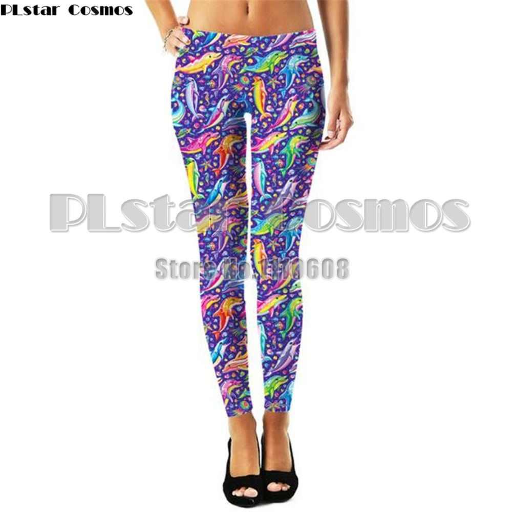 YX девушка бренд Лидер продаж леггинсы Лиза Франк леггинсы для фитнеса с рисунком высокоэластичные леггинсы брюки для женщин
