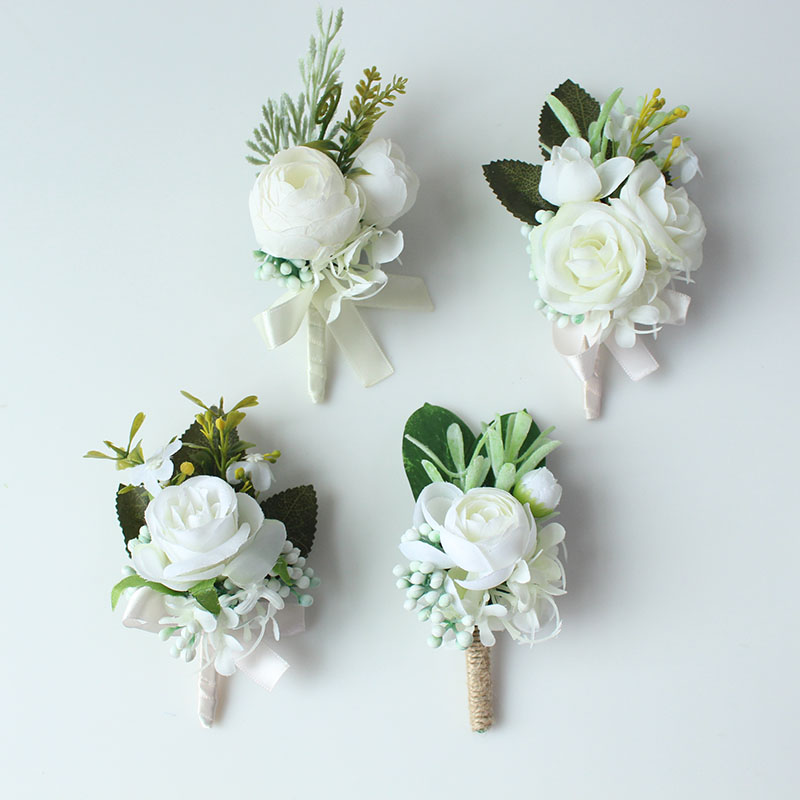 wedding boutonniere corsage groom  (8)