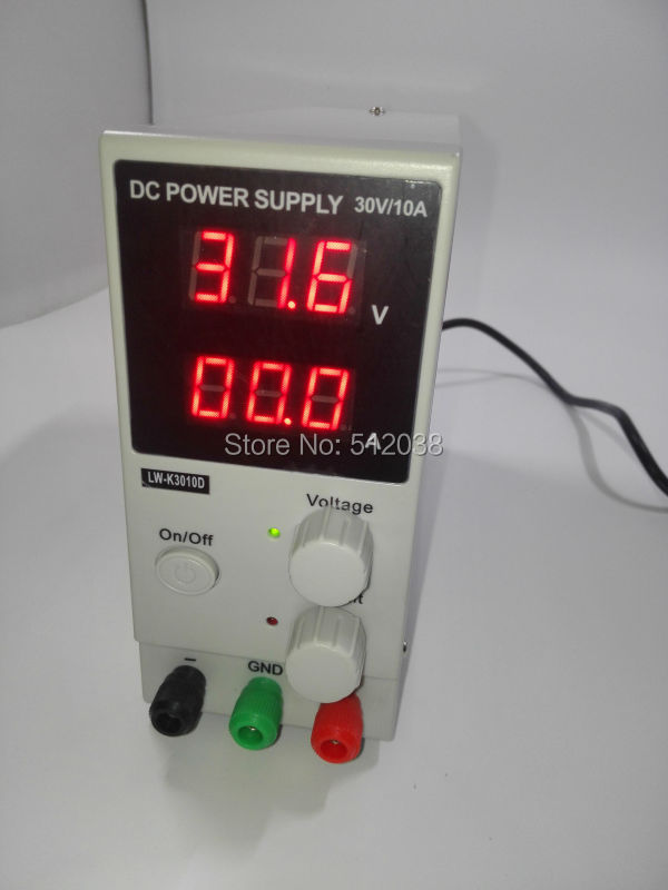 Mini Switching Regulated Adjustable DC Power Supply 0~30V 0~10A 220V /110V original lw mini adjustable digital dc power supply 0 30v 0 10a 110v 220v switching power supply 0 01v 0 01a 34 pcs dc jack