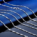 LIAMTING New 100% Solid 925 Sterling Silver Chains Pendant Necklace For Women Fine Silver Chains Jewelry 40cm/45cm/50cm VG008