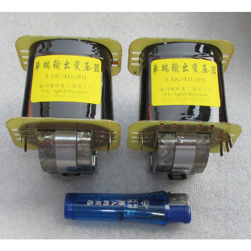 The amorphous iron core 3K5 single ended output transformer is suitable for 6P6P equivalent electron tube
