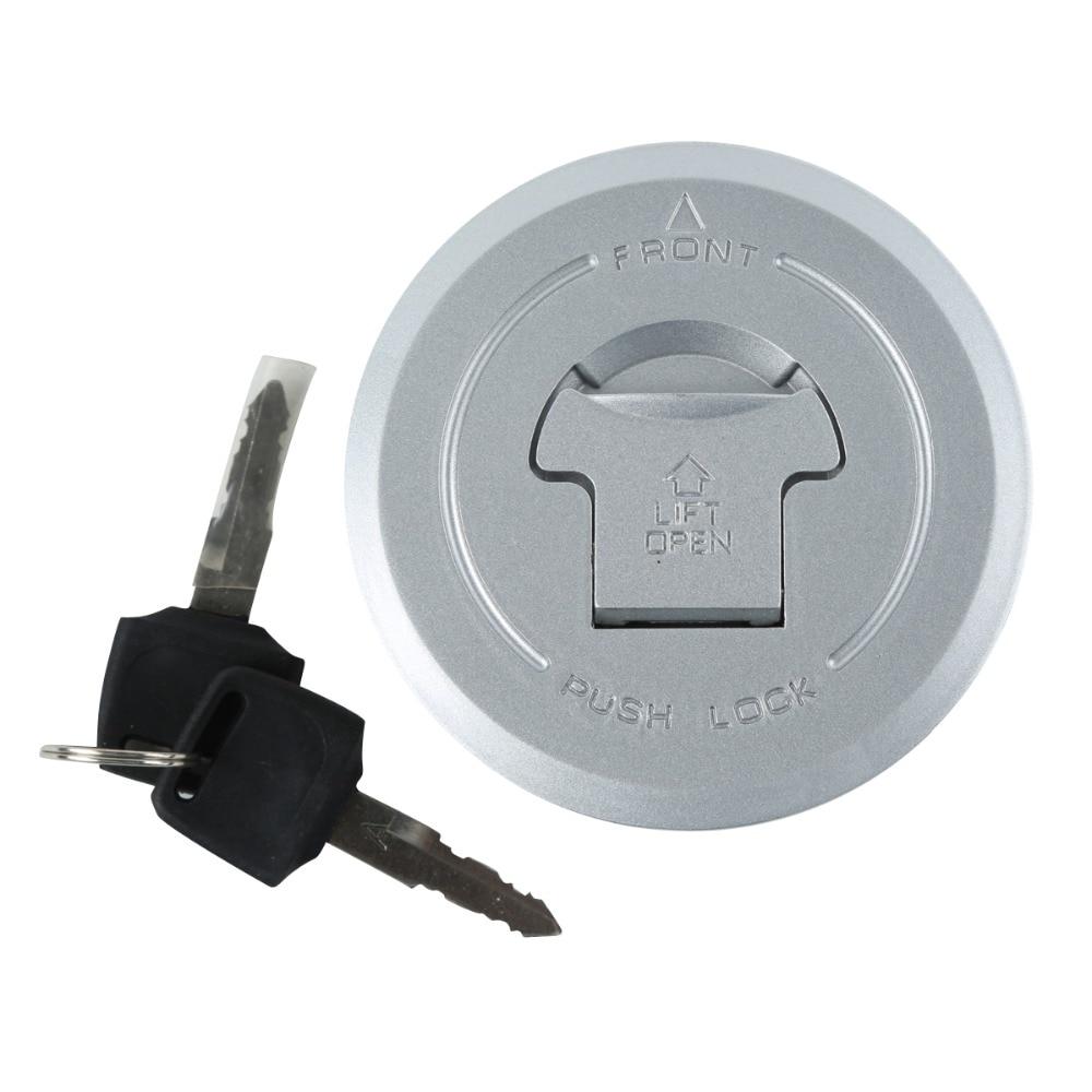 Motorcycle Metal Fuel Gas Tank Cap Cover Lock With Keys For HONDA NS50F 1990 CB600 Hornet 1998-2002 CB1300 X4 1998-2003 motorcycle metal fuel gas tank cap cover lock with keys for honda cbr600rr cbr600 2003 2004 2005 2006