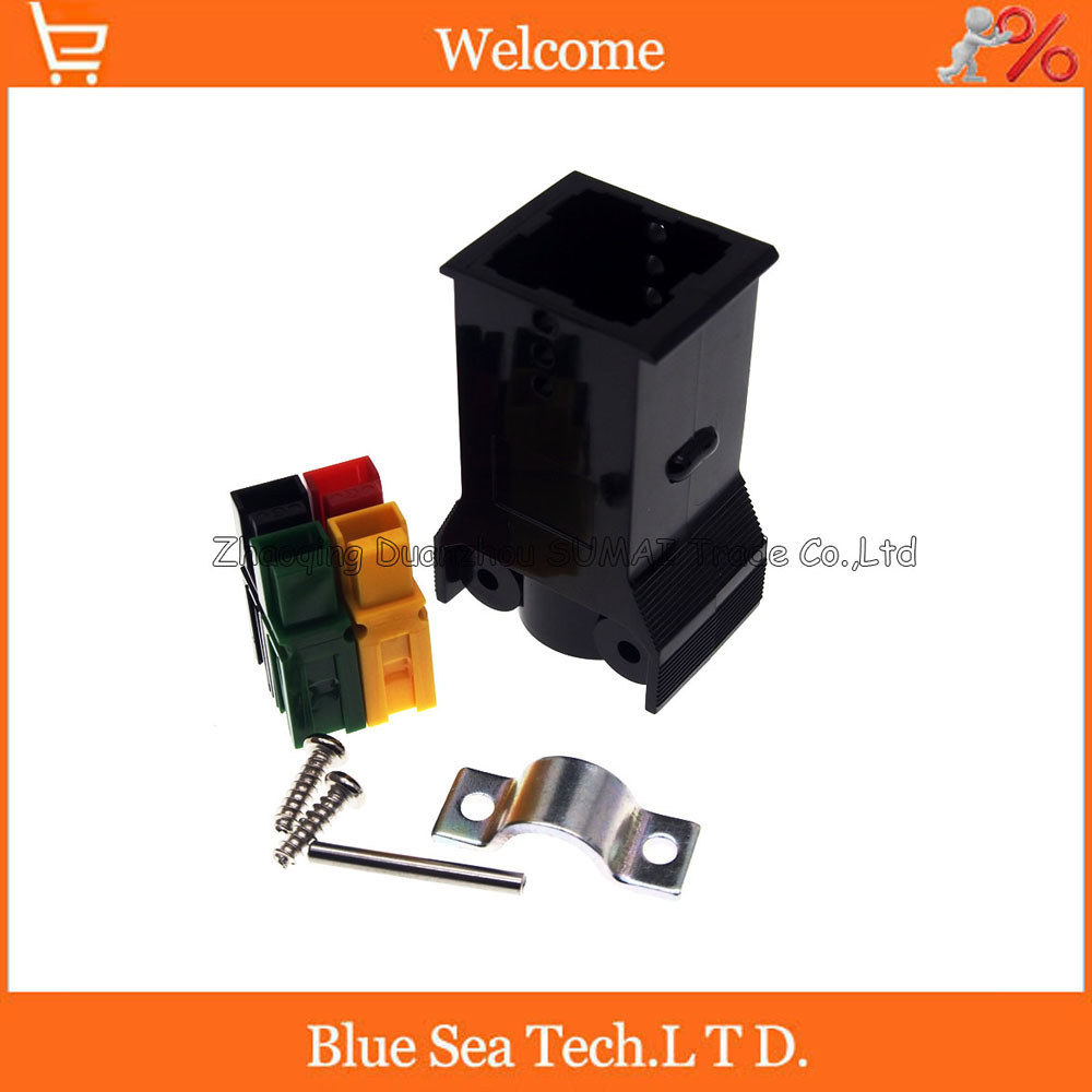 4 Pin 30A 600V 4Pin /Pole/Wire PCB Power Connector module Battery Plug with Pin for UPS forklift electrocar ect. Mix Colors mikado temptation pole 600