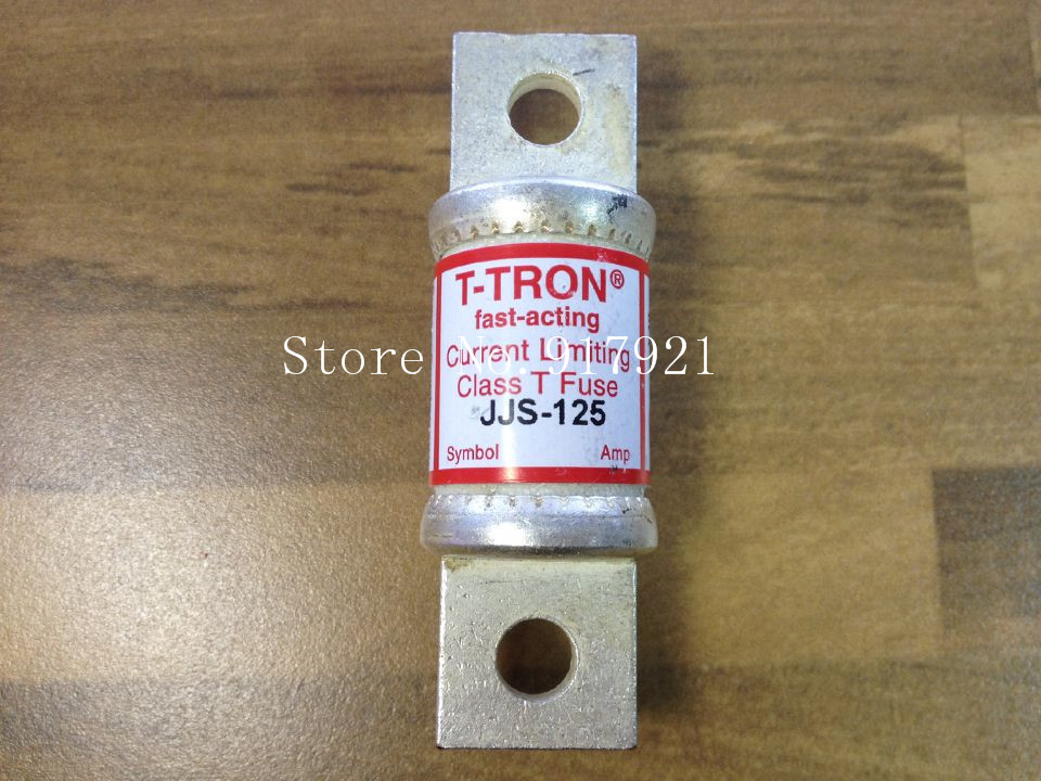 [ZOB] The United States Bussmann JJS-125 BUSS fuse tube FUSE genuine original --2pcs/lot