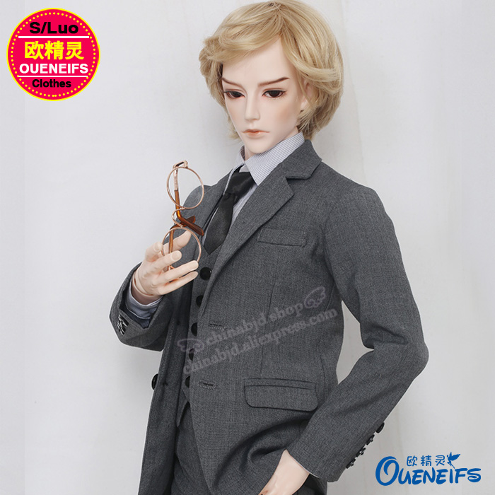 <font><b>BJD</b></font> <font><b>SD</b></font> Doll <font><b>Clothes</b></font> <font><b>1/3</b></font> Boy suit Sports Leisure Sweater Pants For dollSoom ID 72 Body YF3-171 Doll Accessories luodoll image