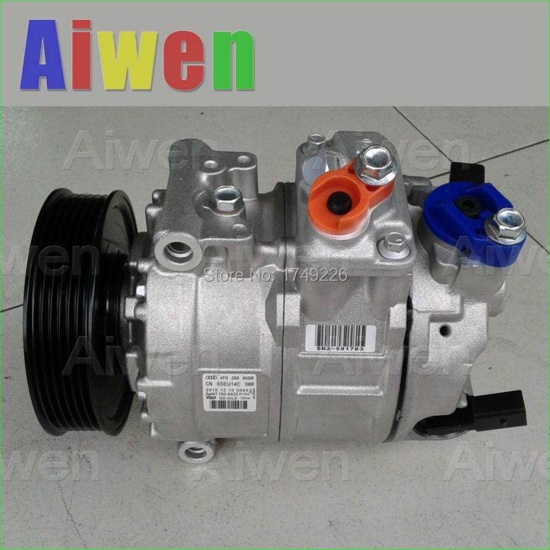 OE оригинальные AC компрессор r134a автомобилей мини кондиционер для автомобиля AUDIA6 4F2 C6 4F0260805R 4471501570 4F0260805N