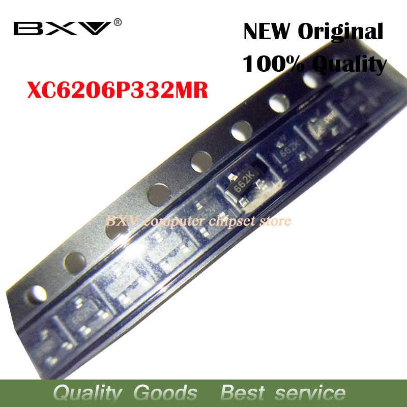100 stücke XC6206P332MR SOT-23 SOT XC6206P332 SOT23 XC6206 SMD (662 K)