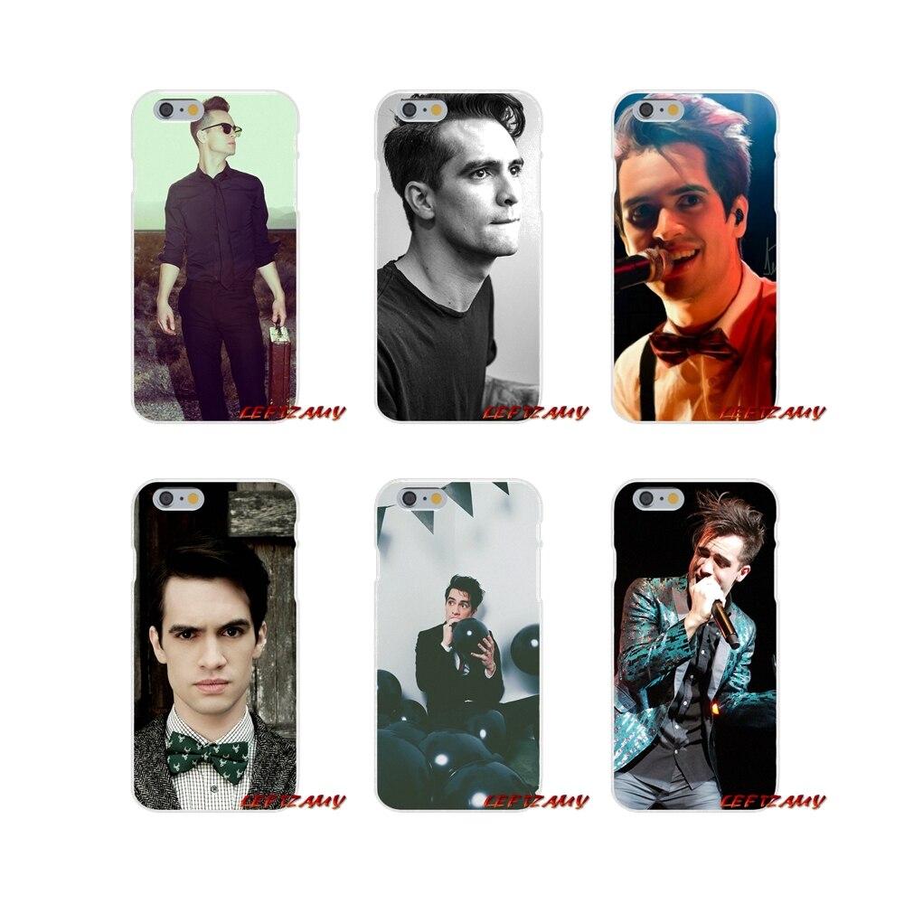 For HTC One M7 M8 A9 M9 E9 Plus U11 Desire 630 530 626 628 816 820 Brendon urie Panic at Disco Silicone Soft Phone Case