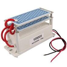 מטהר אוויר לבית מחולל אוזון 220v/110v 10g Ozonizador טרי אוויר נקי Ozonizer ריח Eliminator עיקור