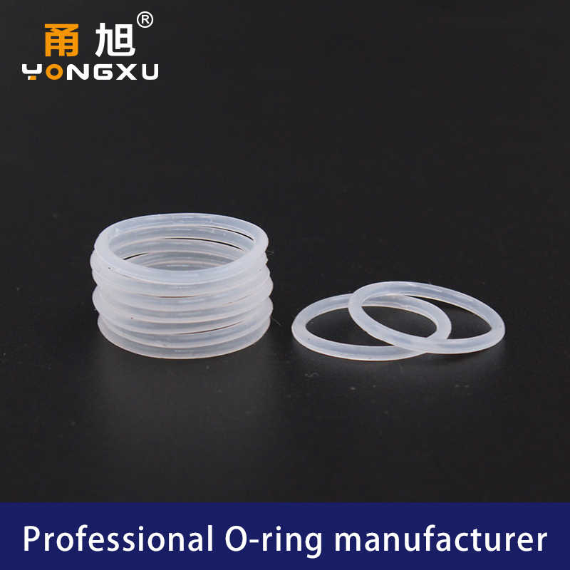 5PCS/lot White Silicon O-ring Silicone/VMQ 1.5mm Thickness OD32/33/34/35/38/40/44/45/50mm O Ring Seal Rubber Gasket Washer