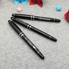 Free logo engraved party favors nice roller ball pen customized free with your name/logo/text 10pcs a lot