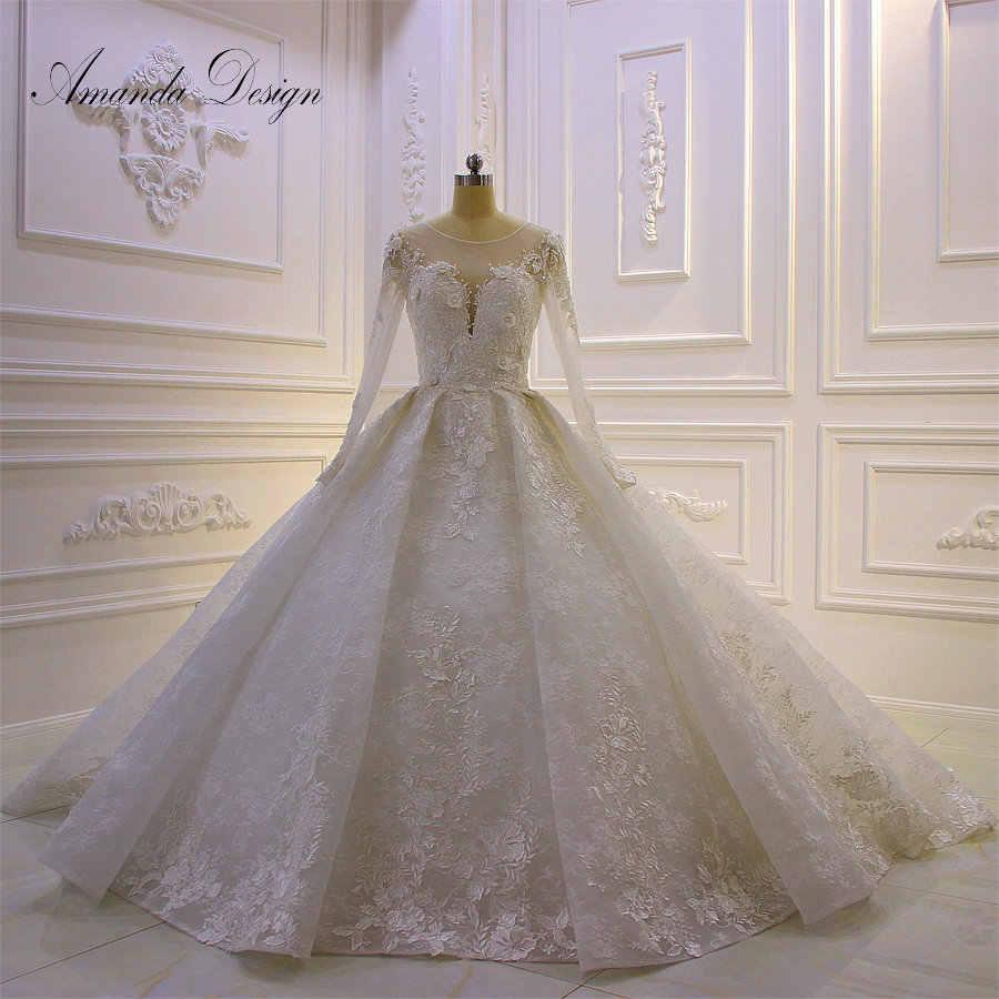 Amanda Design brautkleider hochzeitskleid Full Sleeve Lace