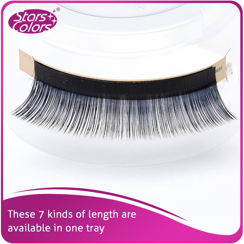 5 boxes lot B C D Curl Mix Size False Volume Eyelash single super soft 0 05mm Thickness Makeup Eyelash Cilia Extention in False Eyelashes from Beauty Health