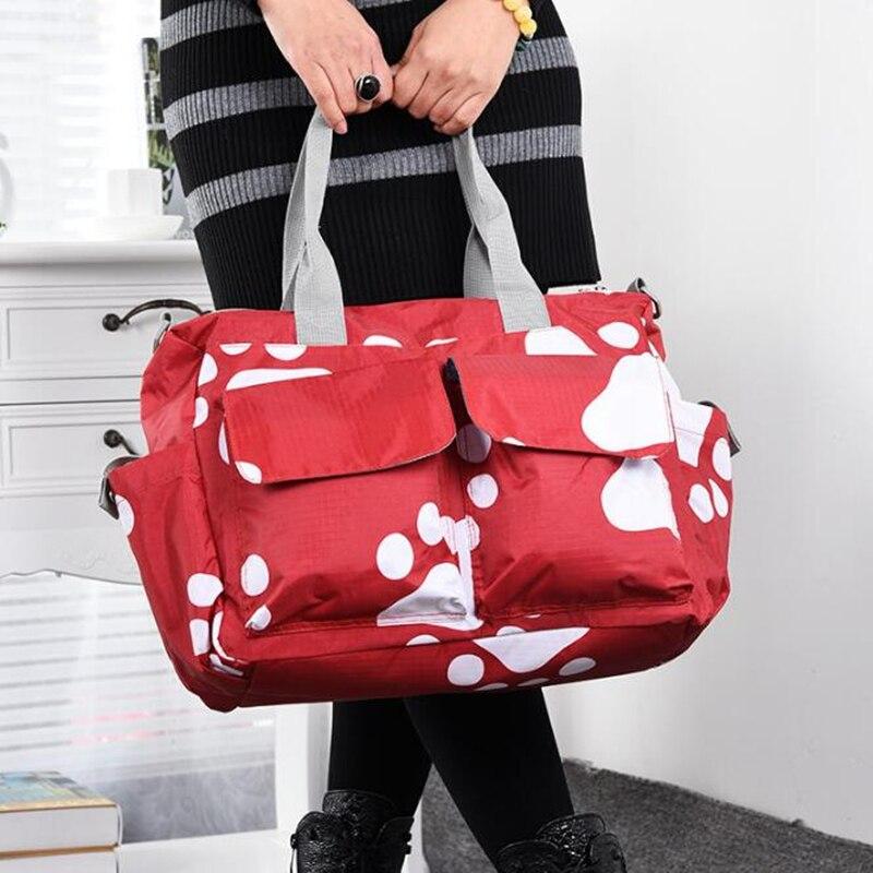 Wear Resistant Handbags Messenger Tote Shoulder Bag Baby Diaper Nappy Bag Large Capacity Maternity Mommy Bag For Mom Mother