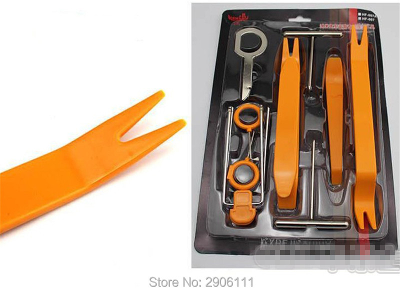 12pcs Car Stereo Installation Kits Car Radio Removal Tool for Ford mondeo kuga fiesta Focus2 3 ecosport accessories car-styling