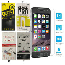 Ultra Thin 0.3mm 2.5D 9H Tempered Glass Screen Protector for iPhone XR XS Max X 8 7 6s 6 plus 5s Samsung s8 note 9 100pcs