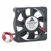 100pcs/set Gdstime 12V 2Pin 50x50x10 5010s 50mm Cooler DC Brushless Cooling Fan