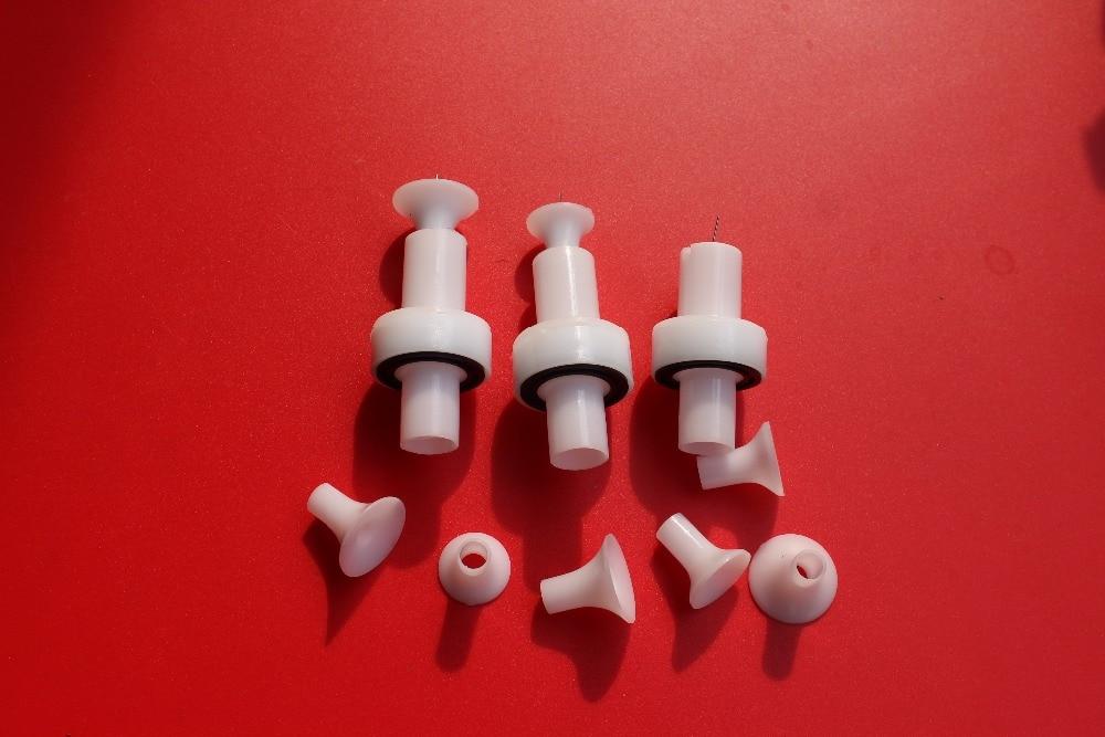 Porte-électrode ronde pour revêtement en poudre pistolet buse de pièces de rechange de Gema facile sélectionner canons de revêtement en poudre
