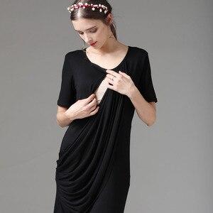 Image 5 - Эмоции, летняя одежда для беременных, платье для беременных, платья для грудного вскармливания, Одежда для беременных женщин, платье для беременных