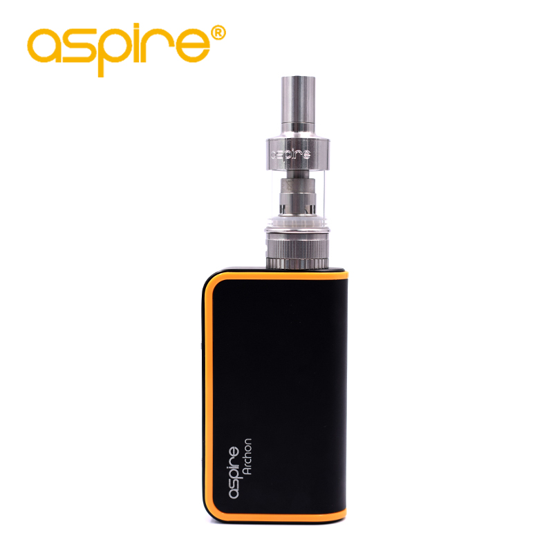 E Cigarette Kit  Aspire Atlantis Tank Atomizer+Electronic Cigarette Aspire Archon Box Mod Without 18650 Battery e cig vaporizer original aspire mechanical e cigarette aspire elite kit with 5ml large atomizer atlantis tank 3000mah battery vape kit vs eleaf