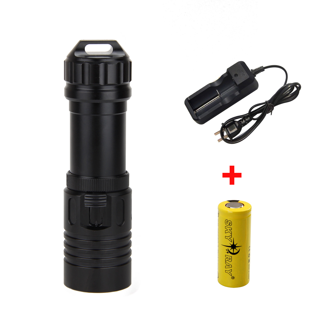 Waterproof 5000LM Scuba Diving Flashlight XML U2 LED Torch Light Lamp+ 26650+Charger sitemap 14 xml