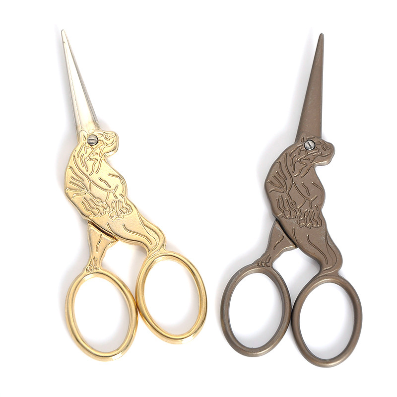 Zodiac Profession Tailor Scissors Sewing Craft Hot Scissors Fabric Cutter Vintage Shears Needlework Dressmaking in Tailor 39 s Scissors from Home amp Garden