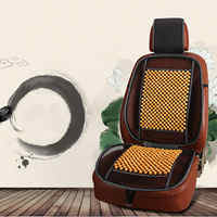 Summer Universal Massage Wood Beads Car Seat Cover Cooling Cushion Mesh Mat Season Wooden Beads Cool Pad Car Seat Cushion