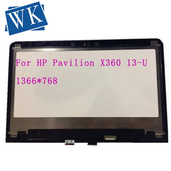 "13.3"" LCD Touch Screen Assembly For HP Pavilion X360 13-U 13 u002n 1366 x768 touch GLASS 30pin"