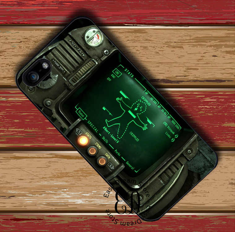 Pipboy 3000 Fall Out สำหรับ iphone 11 pro X XR XS Max 6 7 8 11 plus Samsung s10 E s7 s8 s9 plus หมายเหตุ 8 9 10