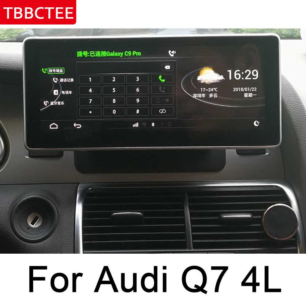 アウディ Q7 4L 2005 〜 2010 MMI Android のカーラジオアンプ GPS ナビゲーション、マルチメディアプレーヤー無線 Lan BT ナビ地図 HD