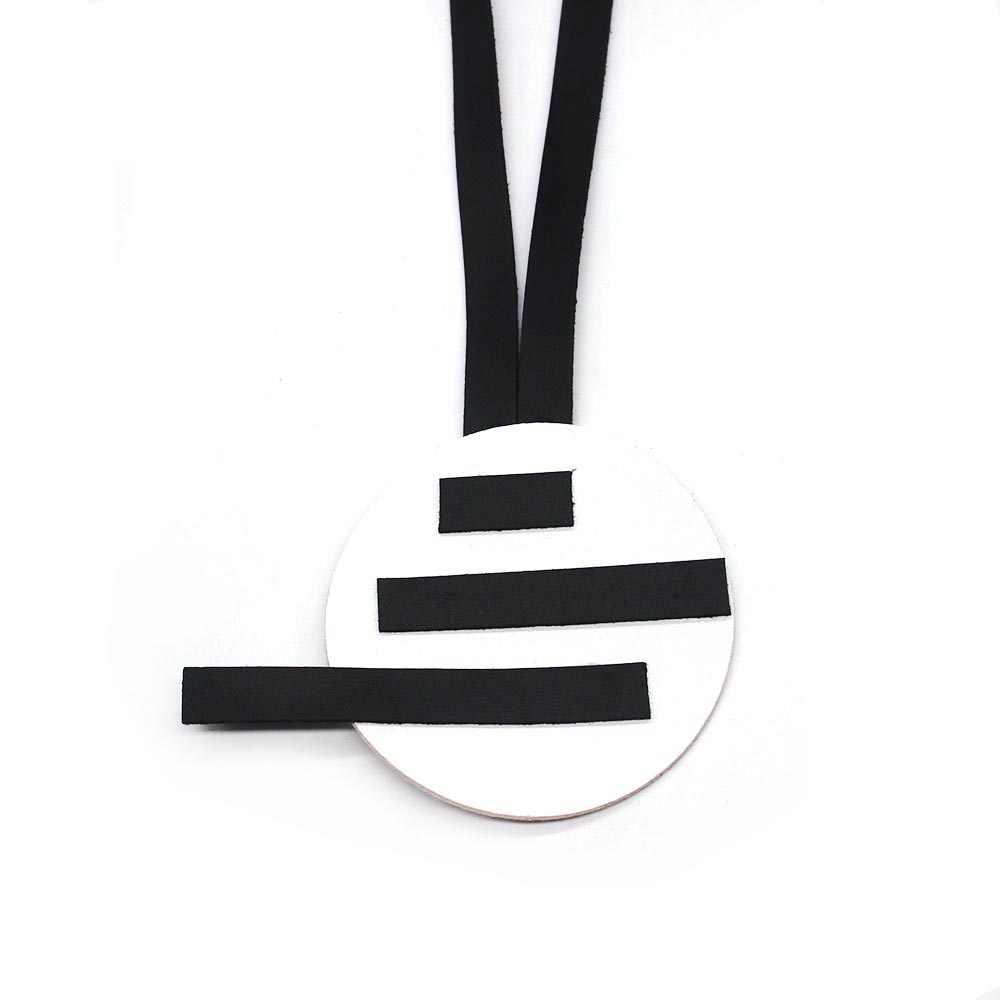2019 nouveau collier en cuir pour femmes mode Long colliers faits à la main bricolage cadeaux filles collier réglable fête Harajuku pendentifs
