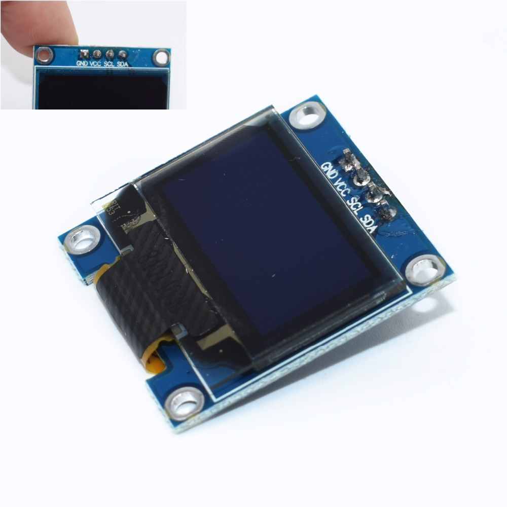 1pcs 4pin 096 WhiteBlueYellow blue 096 inch OLED 128X64 OLED Display Module  096 IIC I2C Communicate for arduino